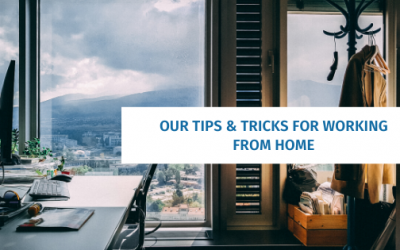 Our Tips & Tricks for Working From Home