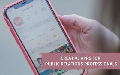 Five Most Useful Creative Apps for PR Professionals